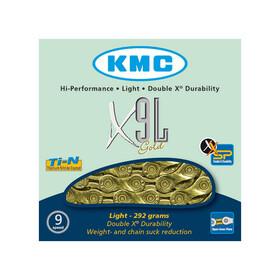 KMC X-9 SL Kette gold